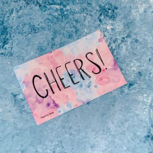 cheers celebration card